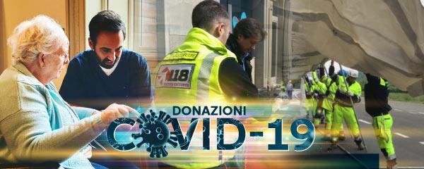 Donazioni COVID-19
