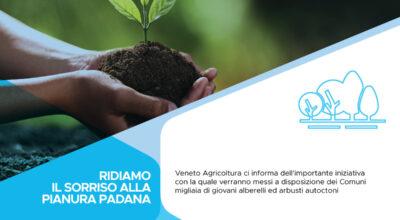 Ridiamo il Sorriso alla Pianura Padana: assegnazione delle piante ai comuni