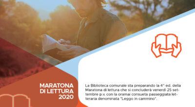 Maratona di lettura 2020