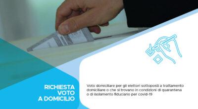 Voto domiciliare per gli elettori sottoposti a trattamento domiciliare o che si trovano in condizioni di quarantena o di isolamento fiduciario per covid-19