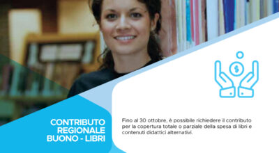 Contributo regionale buono libri e contenuti didattici alternativi a.s. 2020/2021.