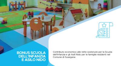 Domanda di contributo per rette di frequenza Scuola Materna e Asilo Nido durante il periodo di lockdown a seguito emergenza COVID-19