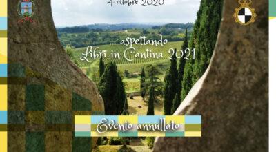 """Annullato l'evento """"Aspettando Libri in Cantina 2021"""""""