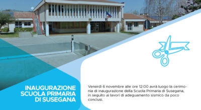 Inaugurazione della Scuola Primaria di Susegana