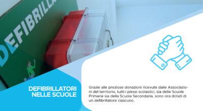 Defibrillatori nelle scuole