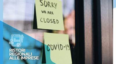Ristori regionali alle imprese soggette a restrizioni da Covid-19