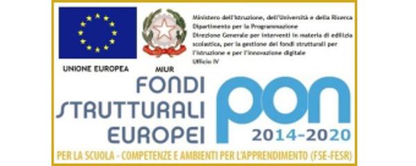 Logo FSE - PON 2014-2020