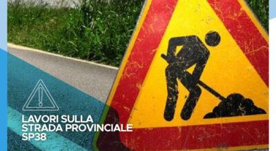 Istituzione di un senso unico alternato sulla strada provinciale SP34 per l'esecuzione di scavi per allacciamento alla rete gas