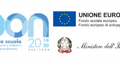"""FSE-PON """"Per la scuola, competenze e ambienti per l'apprendimento"""" 2014-2020"""