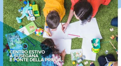 Centro estivo comunale 2021 a Susegana e Ponte della Priula