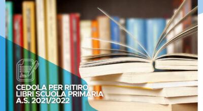 Cedola libraria per ritiro libri scuola primaria a.s. 2021/2022