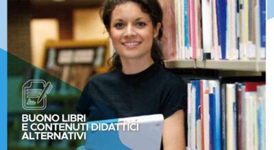 """Contributo regionale """"Buono libri e contenuti didattici alternativi"""" – L. 23/12/1998, n. 448 (art. 27)"""