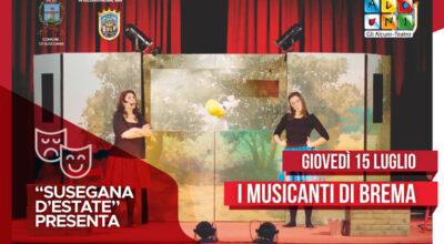 """Susegana d'estate"" presenta ""I musicanti di Brema"""